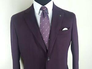 ERMENEGILDO ZEGNA Couture Made In Italy 100% Pure Silk Tie 3.5