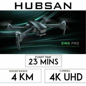 Hubsan Zino PRO FPV Drone 5G 4K GPS Quadcopter Brushless...