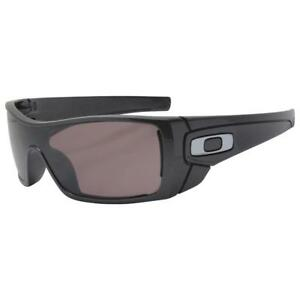 70d8b787ba1 Oakley OO 9101-5527 POLARIZED BATWOLF Granite Prizm Daily Lens Mens ...