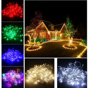 Waterproof-220V-10M-100-LED-Bulb-Christmas-Fairy-Party-Holiday-Deco-String-Light