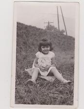 PHOTO ANCIENNE-FILLETTE POUPON-identifiée Grenoble 20 Juillet 1930