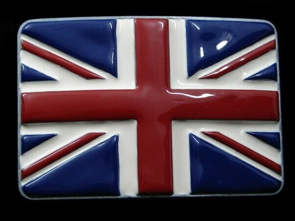 SA01102 Wirklich Cool Union Jack Flagge Großbritannien Gedenk Gürtelschnalle