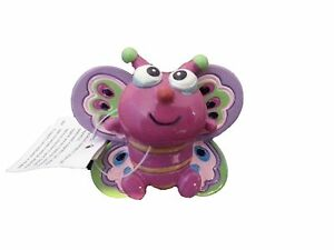 New-5-3D-Butterfly-Magnet-Bobble-Head-Toy-Party-Favor-Office-Decor-Clip-2-inch