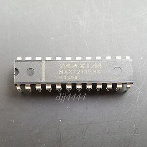5PCS LED Display Drivers IC MAXIM DIP-24 MAX7219ENG MAX7219ENG+