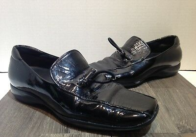 womens prada sport black toggle shoes size 36