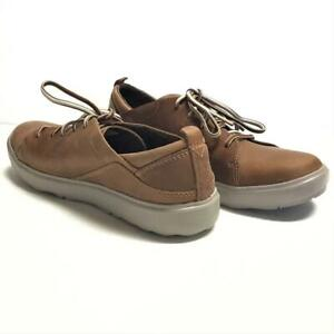 Merrell Around Town Antara Lace Women 10 41 Oxford Shoes Brown Leather NEW