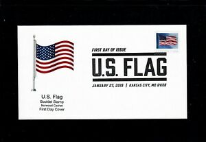 2019-U-S-Flag-Booklet-Stamp-First-Day-Cover-Only-3-Covers-Made-So-Far