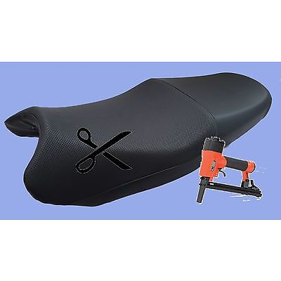 Motorcycle Seat Cover Fitting Service for SeatCovers Purchased from JPupholstery