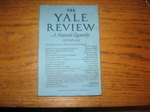 1949-Yale-Review-Ceylon-Chinese-Commies-Palestine-Refugees-Hubert-Creekmore