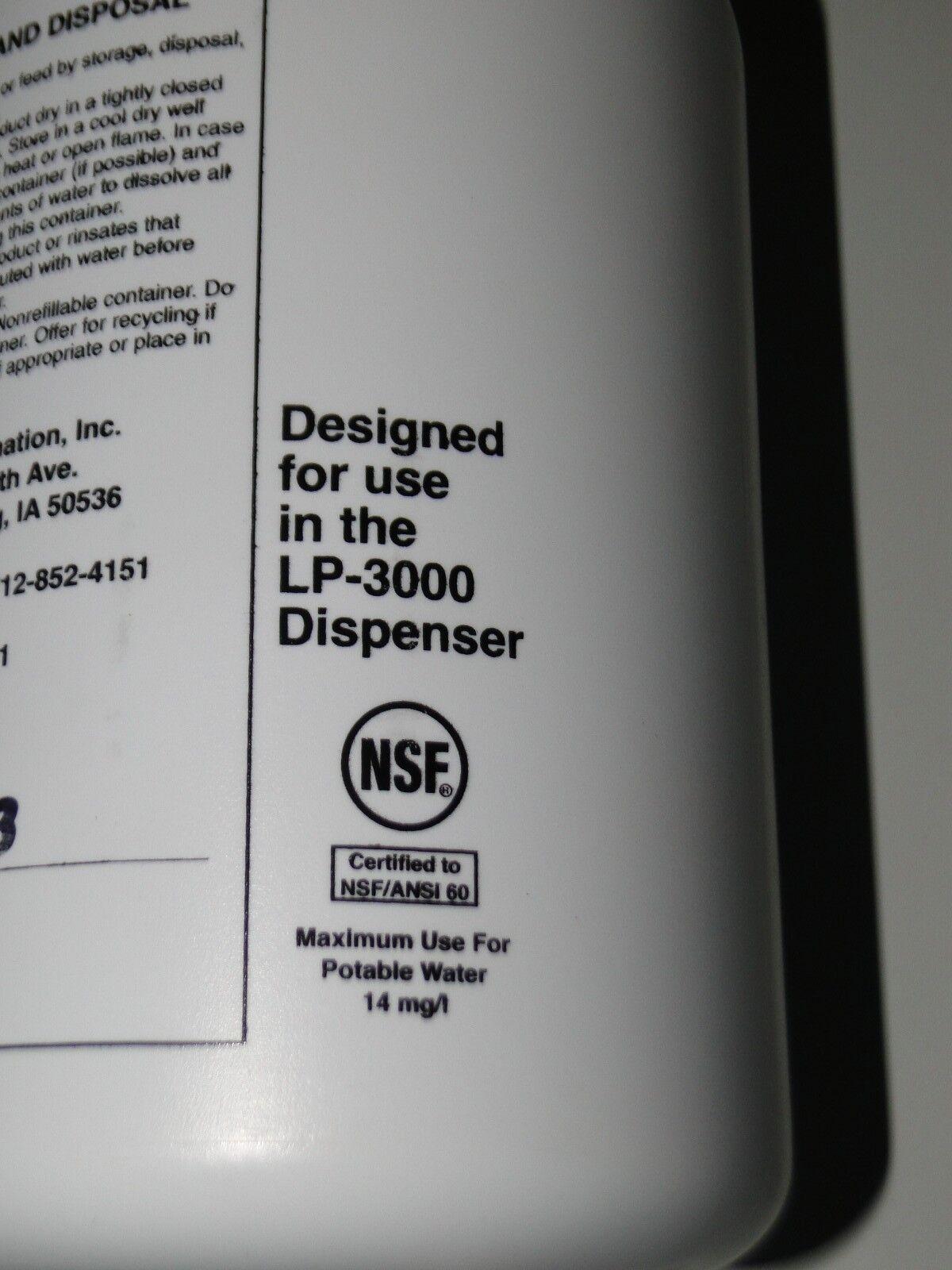 WELL POOL CHLORINE SANITIZER PELLET PENTAIR LP-3000 LANDOMATIC DRY CHLORINATOR