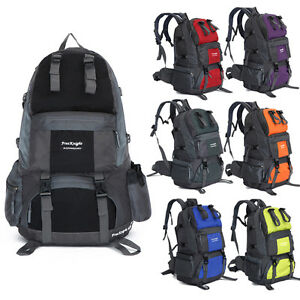 50L-Outdoor-Hiking-Backpack-Hiking-Shoulders-Bag-Travel-Waterproof-Rucksack