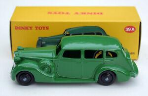 Packard-Eight-Sedan-Modele-Annee-de-construction-1933-1936-m-1-43-vert-DINKY-TOYS-ATLAS-neuf-dans-sa