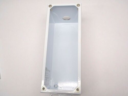 Saginaw SCE-4PBXI 4 Hole Extra Deep 22.5mm Pushbutton Enclosure 10x4x4.75 Inches
