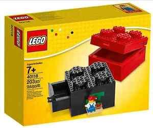 Lego® 40118 Baubare Steinebox 2 X Neu _ Boîte à briques à construire 2x2 Nouveau Misb Nrfb