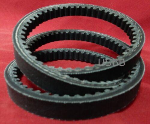 """AX 36 Cogged V Belt 4L10 1//2/"""" x 38/"""" Belt Outside Diameter- USBB AK AX36 Belt"""