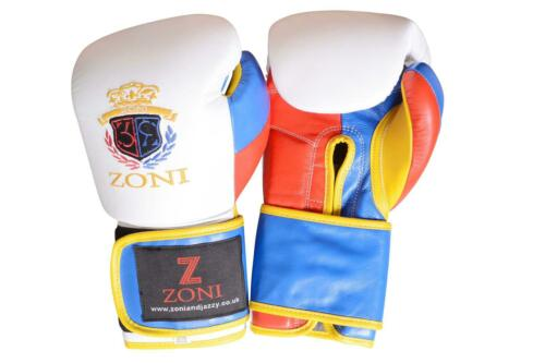 Boxing Gloves Muay Thai Sparring Training Kickboxing Leather Punching Bag