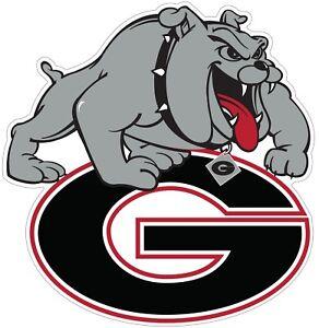 University-of-Georgia-Bulldogs-Color-Vinyl-Decal-You-Choose-Size-2-034-28-034