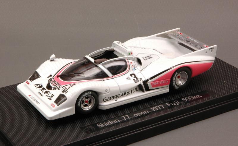 Shiden 77 Open  3 500 Km Fuji 1977 Takahara   Nakajima 1 43 Model 43930 EBBRO