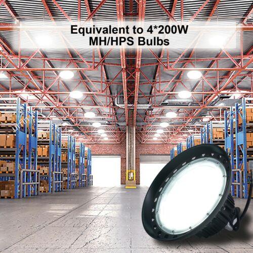 200 Watts UFO LED Light High Bay Warehouse Industrial Lighting AC 100-277