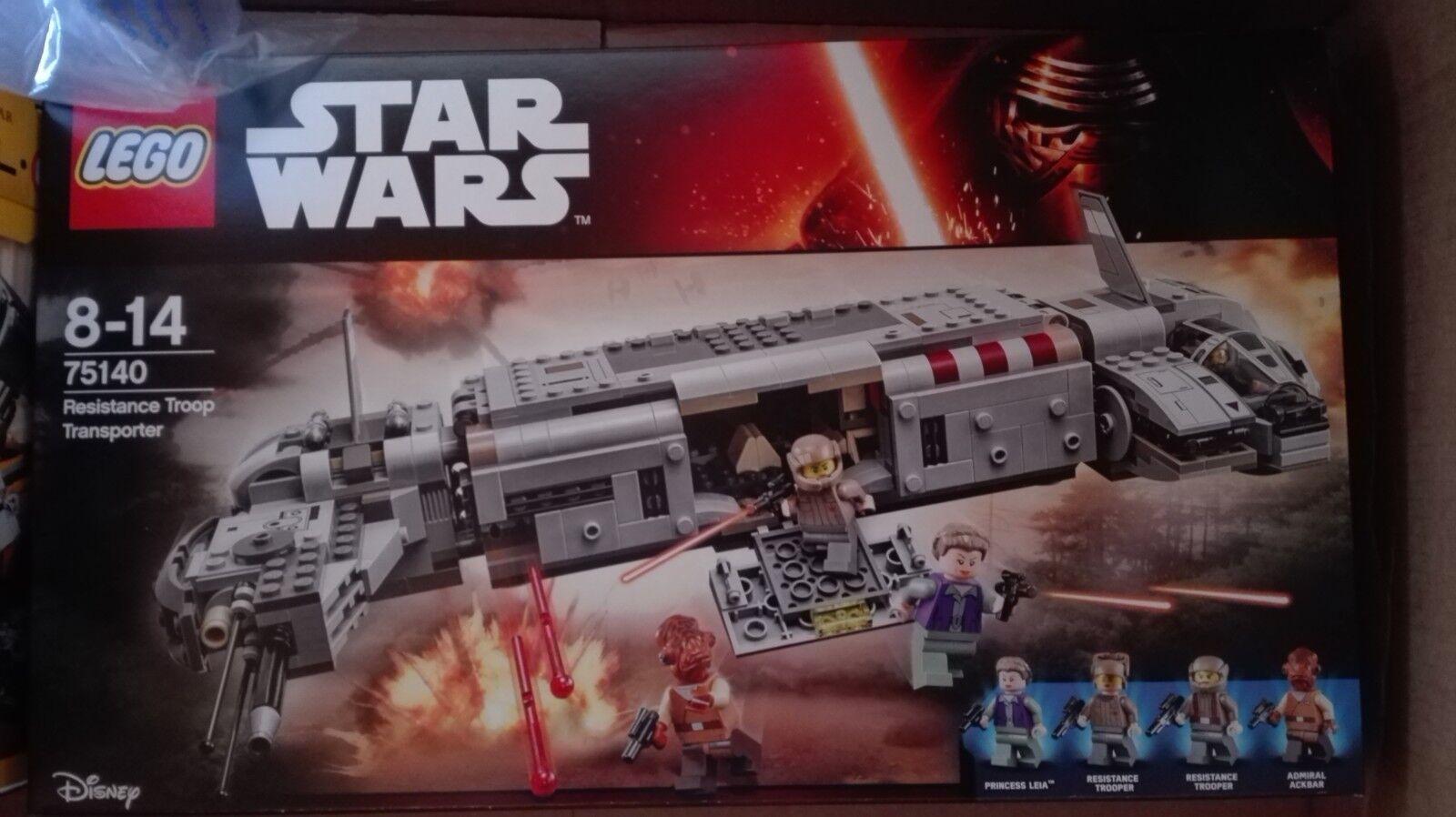 Lego Star WarsResistance Troop Transport 75140