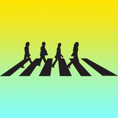 The Beatles Abbey Road Vinyl Sticker Decal for Window x 2 Laptop Van Car