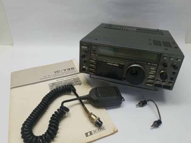 Icom Ic 735 Radio Transceiver For Sale Online Ebay