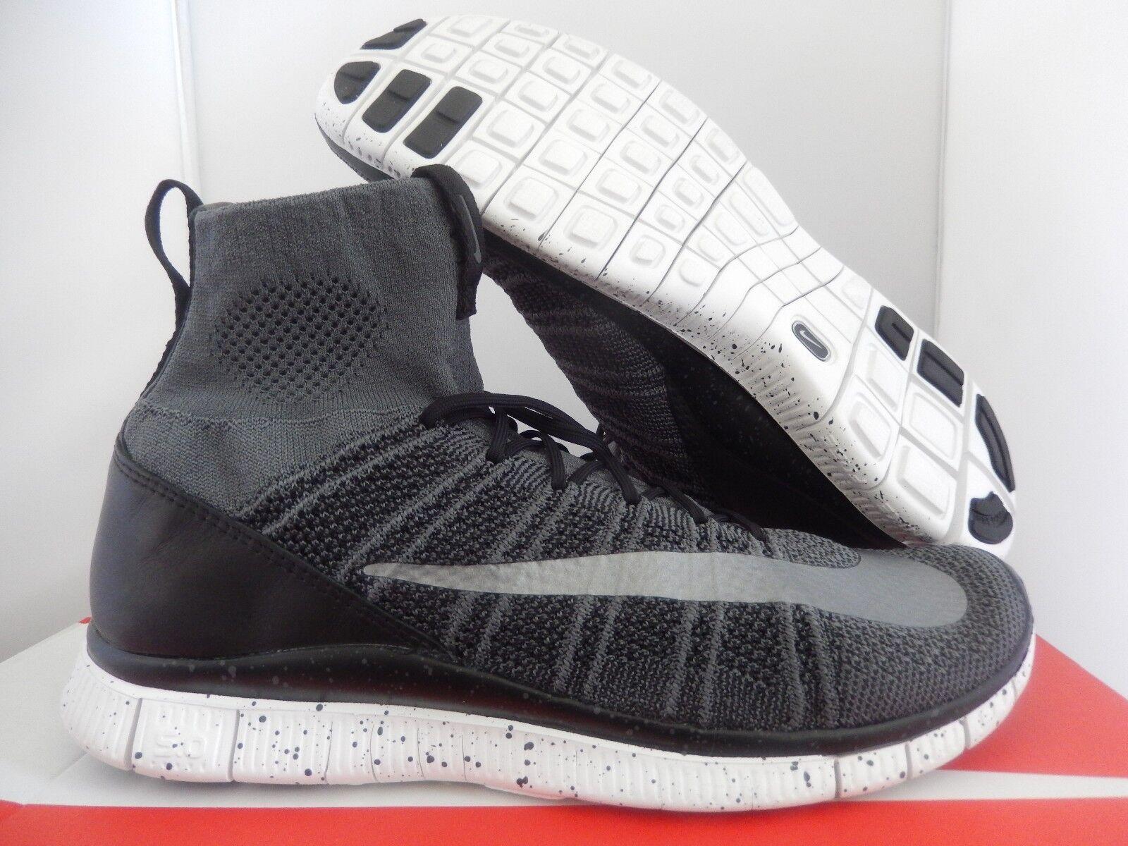 new products 1f721 7b885 Nike Free Flyknit mercurial Dark Gris-Plata-Negro-Blanco reduccion de  precio precio