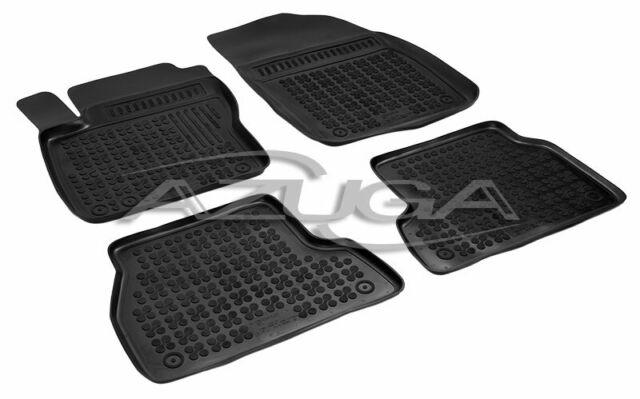 Fußmatten Hohe 3D Automatten für Ford Focus IV ab 2018 Schwarz
