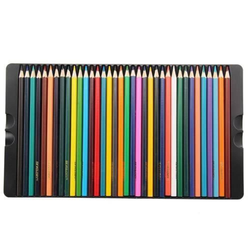 72-tlg Zeichenstifte Set mit Box Buntstifte Farbstifte Skizzierstifte Malstifte