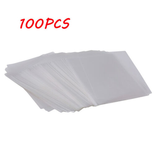 100Pcs Clear Chocolate Lollipop Candy Cellophane Cello Bags Party Favor DB