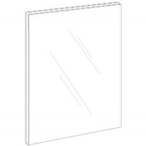 8.5x11 Clear Styrene Wall Mount Sign Holder      Lot of 10       DS-LHPN-8511-10