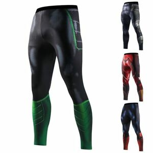 3702a7c629659 Image is loading Compression-Outdoor-Men-039-s-Marvel-Superhero-Long-