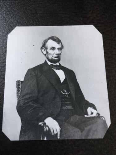 Abraham Lincoln President Civil War Military tintype C920RP