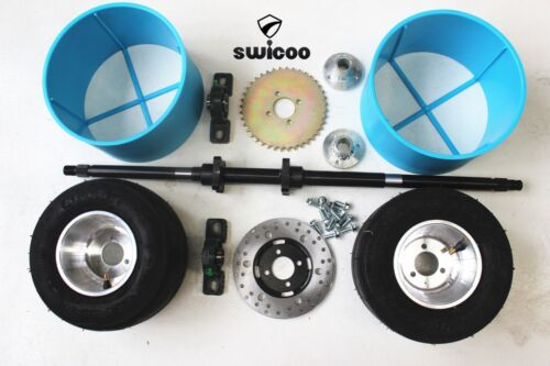 Huffy Slider Drift Trike Go Kart Project 25mm Complete 830mm Axle Wheel Sleeve15