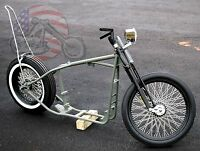 Slammed Sporty Ironhead Rolling Chassis Sportster Harley Paughco Frame Rigid Xl