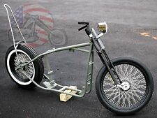 Slammed Sporty Ironhead Rolling Chassis Sportster Harley Paughco Frame Rigid XL