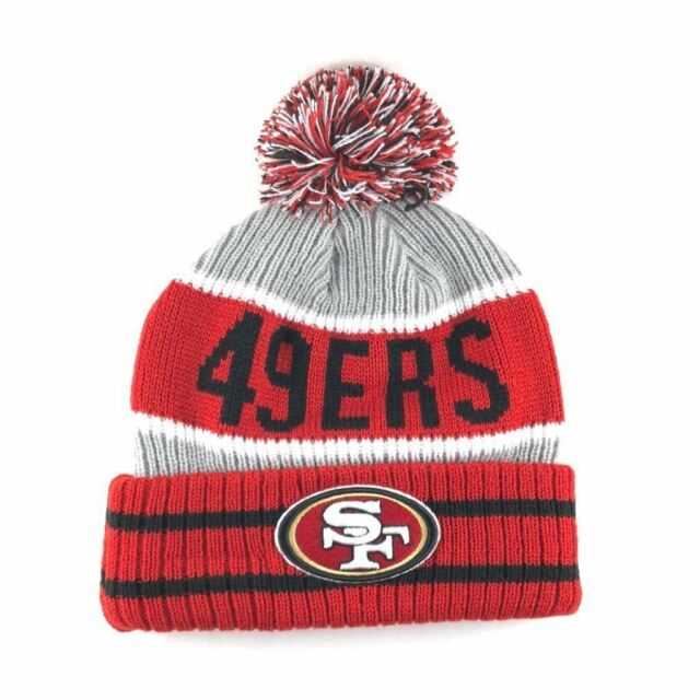 San Francisco 49ers Era Banner Block Cuffed Knit Pom Hat for sale ... 1c12d9ca8