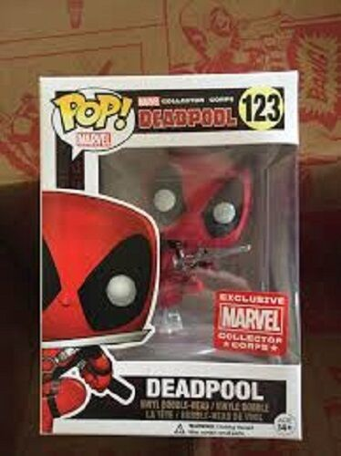Deadpool Marvel collectors corps 2016 Funko Pop Vinyl figure Exclusive BN