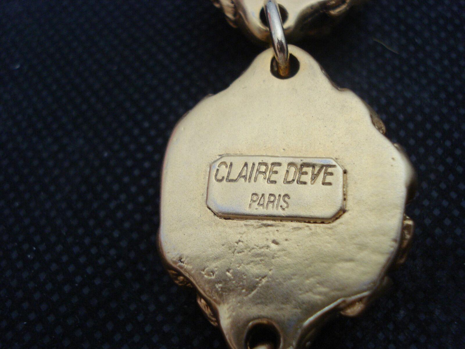 Vintage Claire Deve Paris Couture Designer Baroqu… - image 5