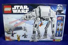 NEW Lego 8129 - AT-AT WALKER - STAR WARS Set - 8 Minifigures - 2010 SEALED BOX