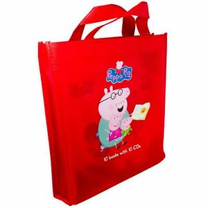 Peppa-Pig-10-Books-with-10-CDs-The-Naughty-Tortoise-Pedros-Pirate-Treasure-The