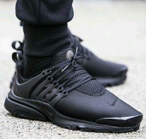 best website 9081f 276e0 Image is loading Nike-Air-Presto-Triple-black-Size-10-UK-