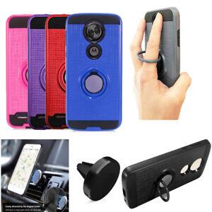 For Motorola Moto E5 Supra Case Moto E5 Plus Case Ring Holder Cover Stand Holder Ebay