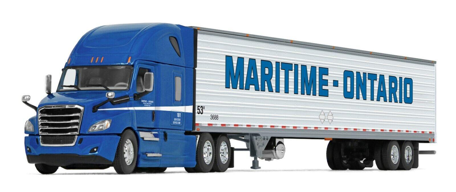 DCP FIRST GEAR 1 64 MARITIME-ONTARIO Freightliner New Cascadia SEMI TRUCK NIB