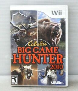Cabela's Big Game Hunter 2010 (Wii) - Used