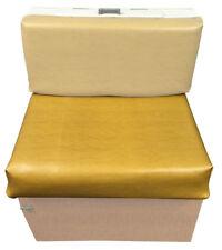 Westfalia Mustard Vinyl Cover Rear Facing Wooden Buddy Seat Backrest  C9491H