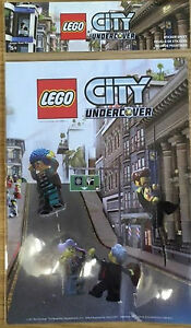 Lego-City-Undercover-Stickers-Feuille-Neuf-Scelle-PS3-PS4-Xbox-un-PC-360