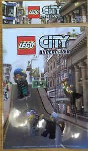 LEGO-CITY-UNDERCOVER-STICKERS-hoja-NUEVO-PRECINTADO-PS3-PS4-XBOX-ONE-PC