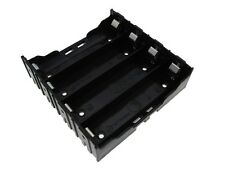 4*18650  Li-ion  Rechargeable Battery Holder PC Pin