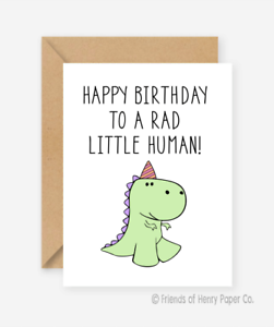 Cool Funny Kids Card Dinosaur Card Friends Of Henry Birthday Card Personalised Birthday Cards Paralily Jamesorg